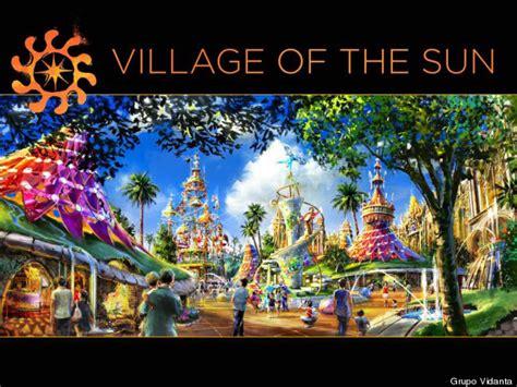 live village themes live shows theme parks new cirque du soleil park