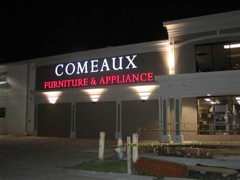 Comeaux Furniture by Industrial Signs Channel Letters