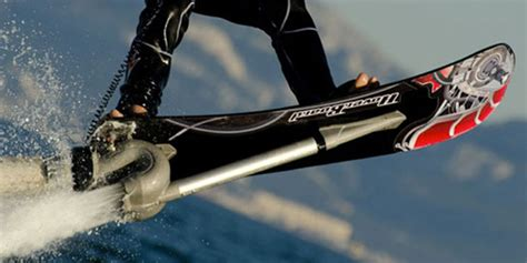 Jet Bor jet powered hoverboard lets you fly the waves wired