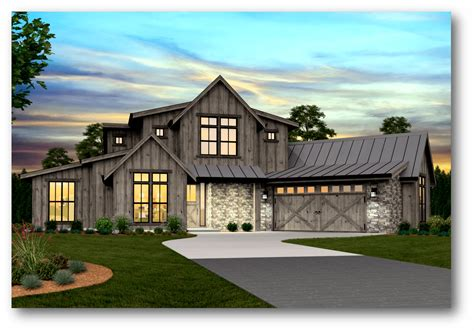 farmhouse plan pendleton modern farmhouse plan by stewart home design