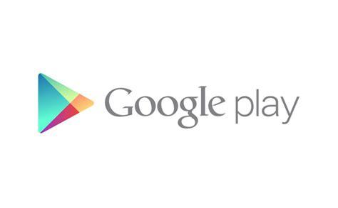 design google play logo stack