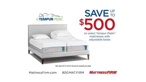 Mattress Firm Commercial by Mattress Firm Tv Commercial Why Tempur Pedic