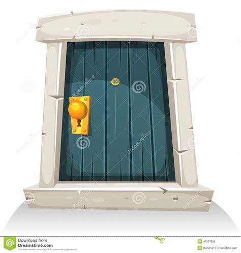 Jaket Catton Door door stock vector image 41207985
