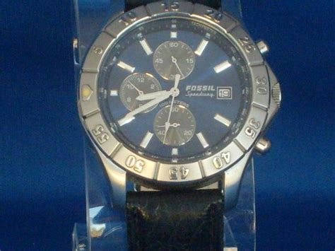 F Ssil Speedy Other Watches Fossil Speedway Mens Ch2332 Blue