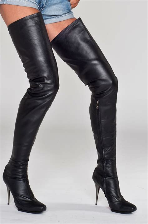 thigh high stiletto boots stiletto boots my style stiletto boots