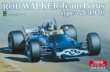 1970 rob walker team lotus type 72c formula 1 | model