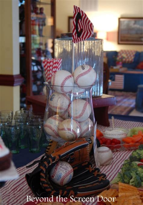 Baseball Baby Shower Decorations by Baseball Baby Shower Baby Shower Ideas Themes