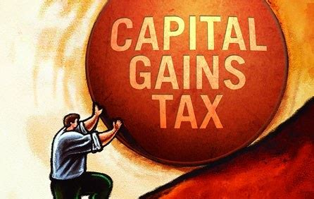 capital gains tax on the sale of real estate properties in
