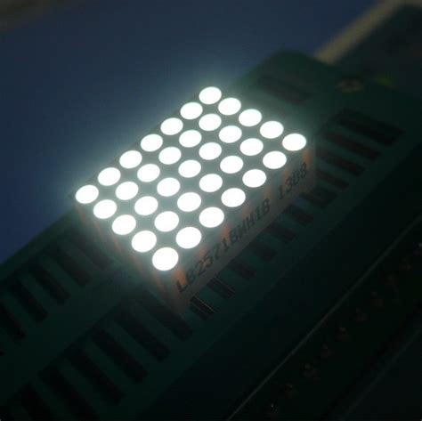 Led Dot Matrix led 5x7 dot matrix display for fan led dot matrix display