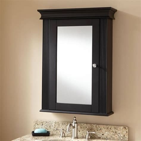 Black Bathroom Mirror Cabinet 25 best ideas about black cabinets bathroom on
