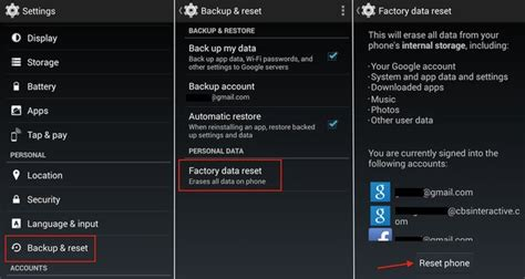 reset android open with hard reset lg optimus hard reset buttons and settings menu