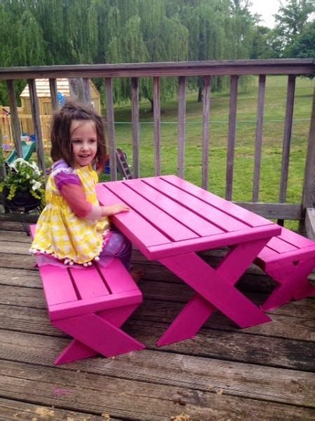 picnic bench for kids 17 best ideas about kids picnic table on pinterest kids picnic table plans children