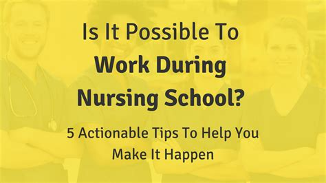 5 Actionable Tips To Make Nursing School Of Success