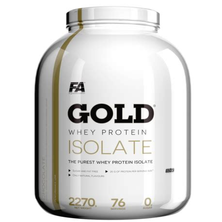 Fitnes Whey Protein fitness authority gold whey protein isolate 2270g
