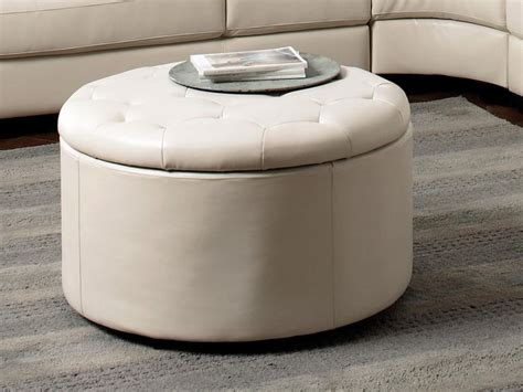 round ottoman furniture round ottoman with storage furniture home design ideas