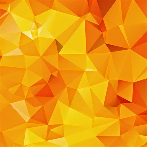 yellow geometric background design vector from free vector free vector abstract geometric background freevectors net