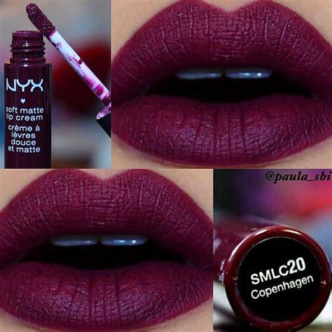nyx soft matte lip in copenhagen makeup
