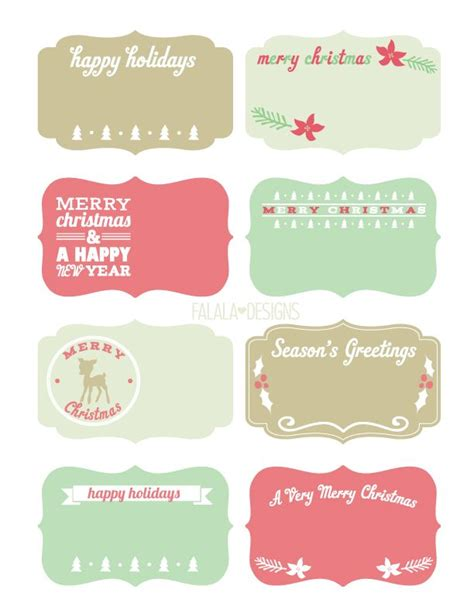 free printable christmas gift tags for food 280 best christmas printables images on pinterest