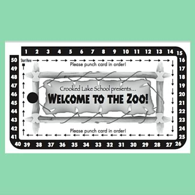 school carnival half sheet punch card template 5 easy ideas for your school carnival pto today