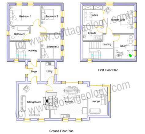 irish cottage floor plans irish cottage plans fushia cottage