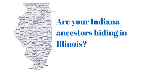 Indiana State Library Marriage Records Indiana Genealogical Society Check Illinois For