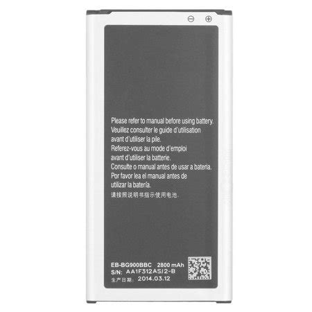 samsung galaxy s5 replacement battery replacement battery 2800mah for samsung galaxy s5 active at t sm g900pzkaspr phone models