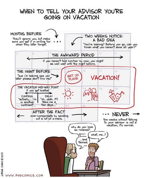 phd comics advisor bubble boring life spilt martini