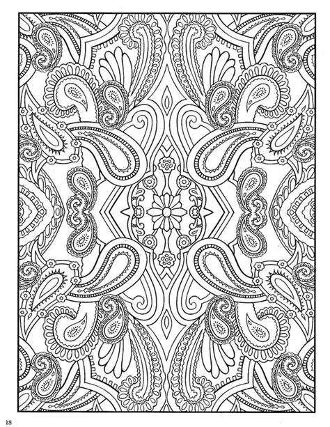 coloring book designs dover paisley designs coloring book paisley prints