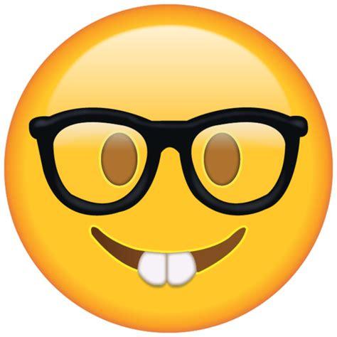 Emoji Nerd   nerd emoji free png emojis emoji island