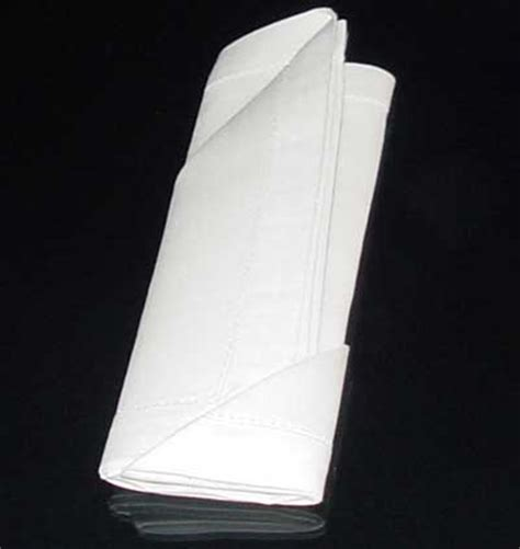 Paper Napkin Folding With Silverware - silverware napkin folding the silverware pouch