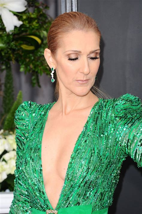 celine dion celine dion on red carpet grammy awards in los angeles 2