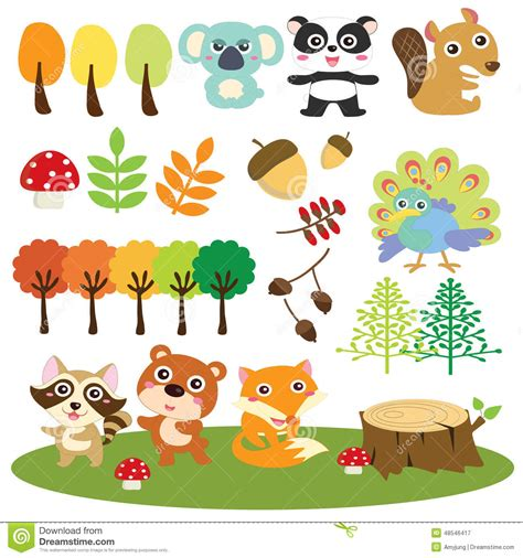 clipart animali baby woodland animals clipart 87