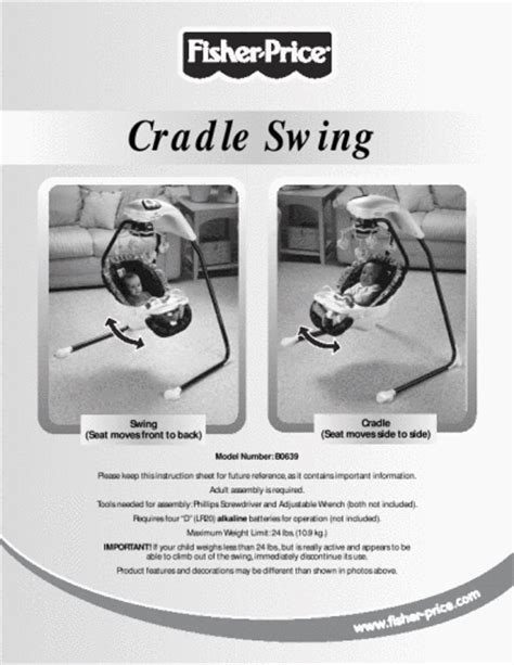 fisher price cradle n swing instruction manual fisher price collection cradle swing baby gift sets