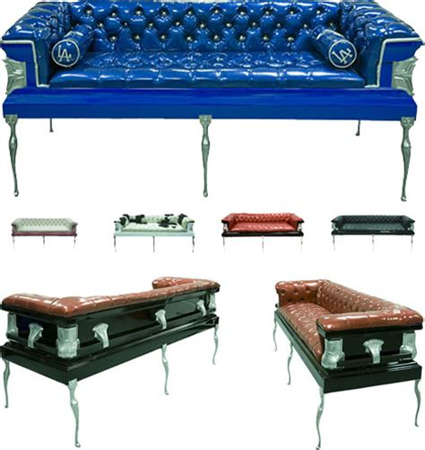 coffin couches 10 coffin furniture ideas caskets couches to death desks