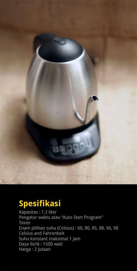 Teko Listrik Pengatur Suhu brewista smart pour kettle cikopi