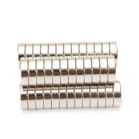 Murah Neodymium Magnet 3mm 50pcs n50 d10 3mm strong ring magnets earth neodymium alex nld