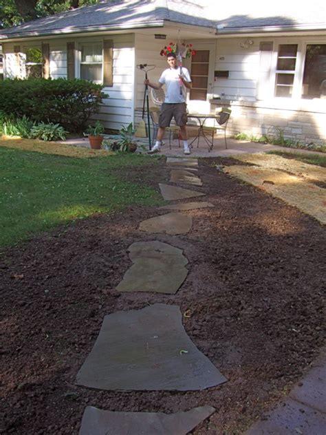 nicholas rinard keene s little bit stone walking path