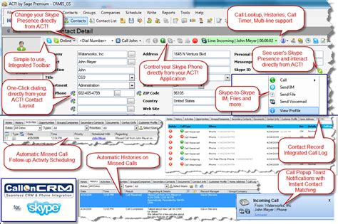 sage act layout design crm integration systems call on crm 888 90 crmis