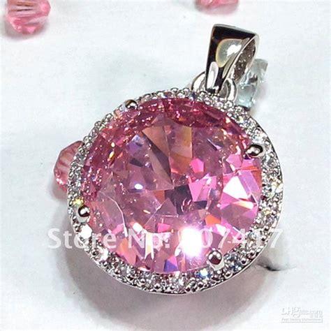 Silver Pink Kunzite 12 15ct pink kunzite fashion 925 silver gemstone pendants r145