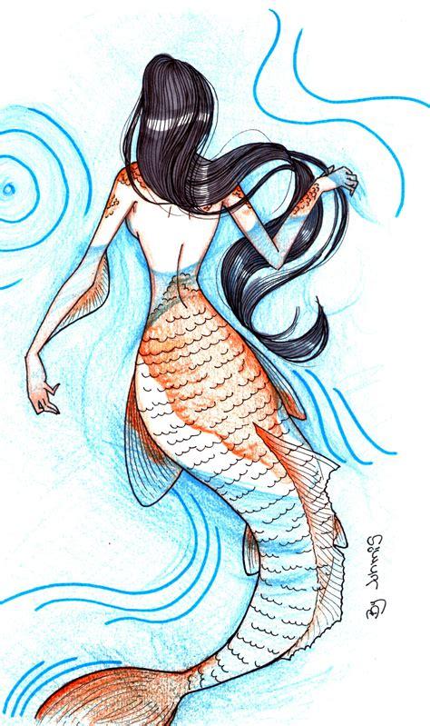 desenho sereia sereia meus desenhos