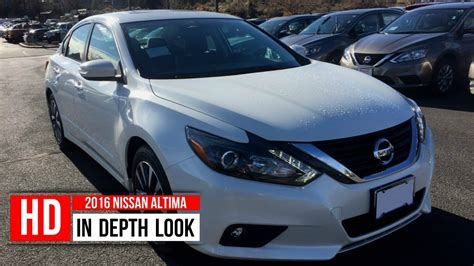 nissan altima 2016 trunk 2016 nissan altima 2 5 sl in depth walkaround engine