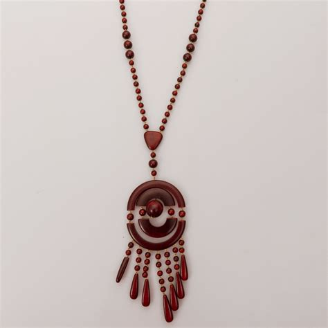 wooden beaded necklaces alma wooden beaded necklace product sku y 131397