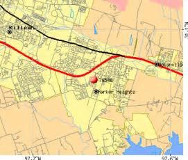 map of harker heights 76548 zip code harker heights profile homes