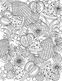 summer coloring pages for adults free coloring page for you