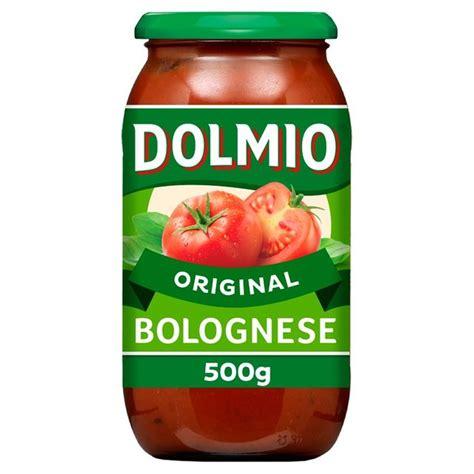 Dolmio Saus Pasta Carbonara morrisons dolmio bolognese original pasta sauce 500g