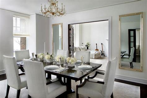 Silver Dining Room Mirrors Legant Formal Dining Room With Doors To Living Room