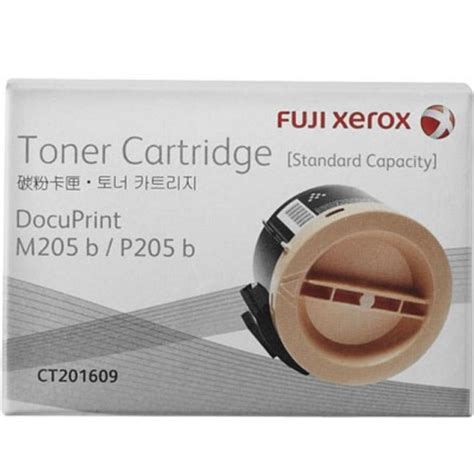 Fuji Xerox Ct201609 fuji xerox ct201609 black toner cartridge genuine inkdepot