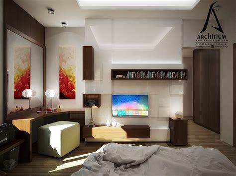 desain interior desain kamar tidur architium