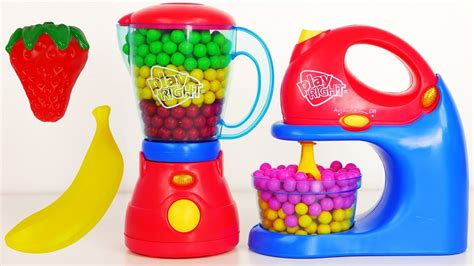 Mixer and Blender Play Right Kitchen Appliance Playset
