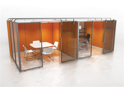 office pods acoustic utility areas office